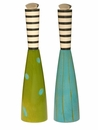 William Bounds Pep Art Apple & Turquoise Twin Mill Set