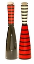 William Bounds Pep Art Red & Black Twin Mill Set