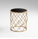 Wimbley Iron Side Table by Cyan Design