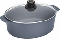 "Woll Diamond Plus Induction Covered Oval Roaster 6.3 qt. 10.5"" x 12"""