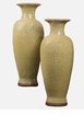 Yellow Imperial Vase Home Decor