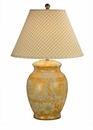 Yellow Porcelain Table Lamp (3 Way And 150W ) Home Decor