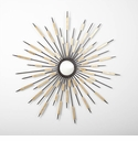 Zenith Decorative Iron Wall Mirror by Cyan Design