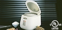 Zojirushi Electric Rice Cooker & Warmer 5 Cups - Herb White