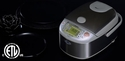 Zojirushi Induction Heating System Rice Cooker & Warmer 5.5 Cups - Stainless Steel