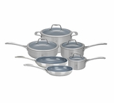 Zwilling Spirit Stainless Steel 10 Piece Cookware Set