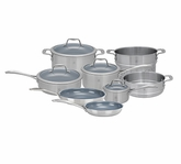 Zwilling Spirit Stainless Steel 12 Piece Cookware Set