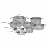Zwilling Spirit Stainless Steel Cookware 12Pc Set