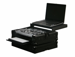Odyssey FZGSVCI300GT-BL Black Label Glide Style Case For Vestax VCI-300