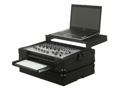 Odyssey FZGSVCM600GT-BL Glide Style Case Black Label For Vestax VCM-600