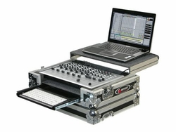 Odyssey FZGSVCM600GT Glide Style Case With Keyboard For Vestax VCM-600
