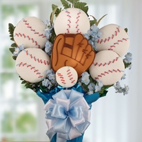 Baseball Cookie Bouquet