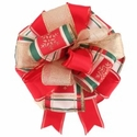 Custom Handmade Holiday Bow $9.99 (each unique)