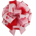 Custom Handmade Valentine Bow $9.99 (each unique)
