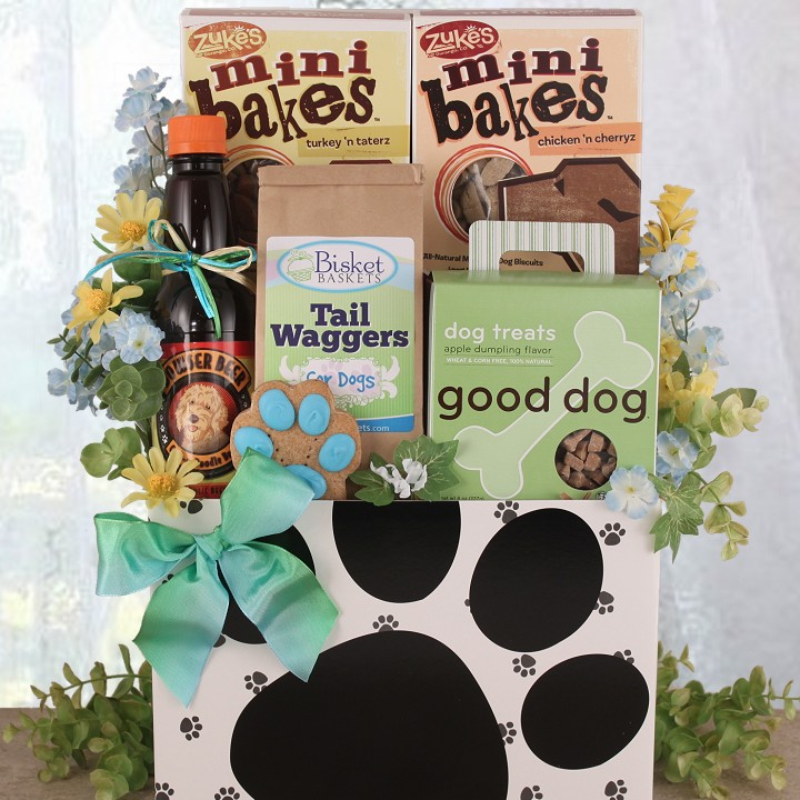 Dog Pound Gift Box from Bisket Baskets