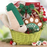 Gator Bites Holiday Gift Basket for Dogs
