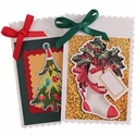 Handmade Custom Holiday Card $4.99 (each unique)