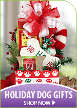 Christmas Dog Gift Baskets