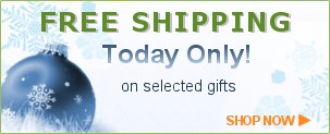 FREE SHIPPING on select gifts