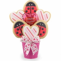 Love Bug Cookie Bouquet