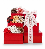 Love for Chocolate Valentine's Gift Tower