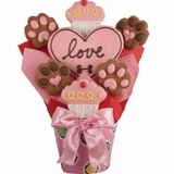 Pawfect Love Dog Biscuit Bouquet