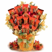 Radical Reese's Candy Bouquet