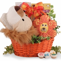 The Mighty Jungle Dog Gift Basket