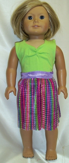 Amercian Girl Doll Colorful Clothes
