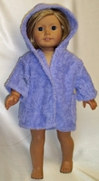 American Girl Doll Purple Beach Cover Up