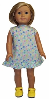 American Girl Doll Beach Party Dress