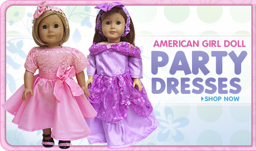 American Girl Doll Party Dresses