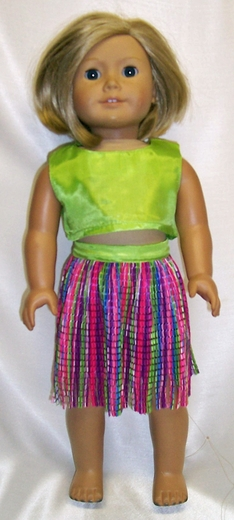 American Girl Doll Goes Hawaiian