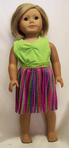 American Girl Doll hawaiin Outfit