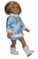 American Girl Doll Ice Skating Dress & Pants