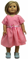 American Girl Doll Pink Dress