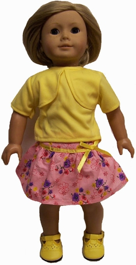 American Girl Doll Skirt and T Top On Sale Cheap