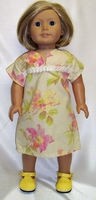 American Girl Doll Spring Flower Dress