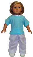 American Girl Doll Summer Pants & T Shirt
