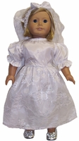 American Girl Dolls Wedding Dress & Veil