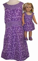 Available for Girl & Dolls Purple Sundress Size 10