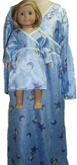 Available For Girls & Dolls Bear Nightgown Size 7