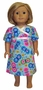 Matching Girls & Dolls Butterfly Nightgown Size 7