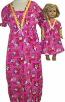 Girls & Dolls Hello Kitty Nightgown Size 5