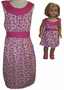 Available For Girls & Dolls Raspberry Dress