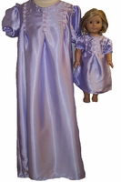 Available For Girls  & Dolls  Satin Nightgown Size 8