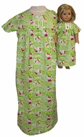 Matching Girls & Dolls Nightgown Size 7