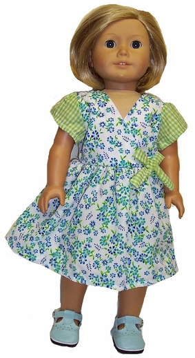 Availalbe For Girls & Dolls Matching Flower Dress Size 7