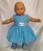 Baby Doll Blue Dress On Sale