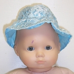 Baby Doll Blue Hat